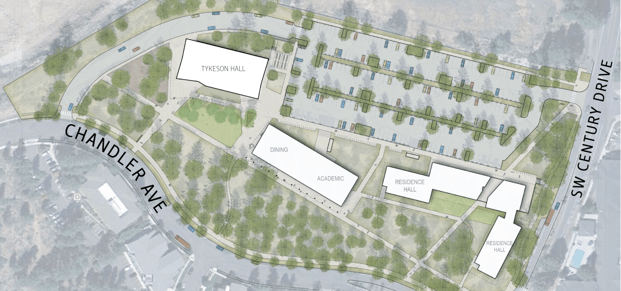 10-acre site plan