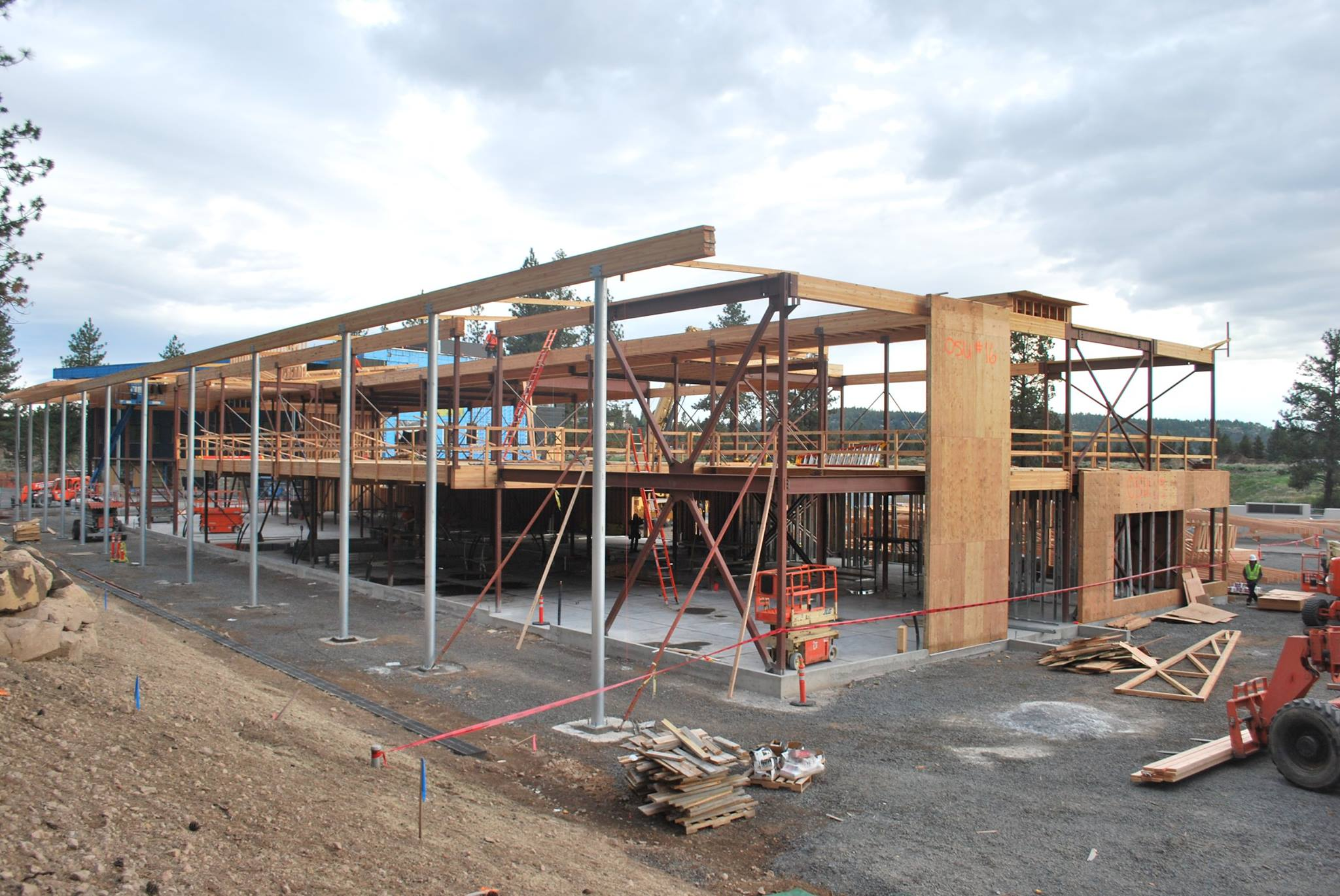 Dining Hall Construction