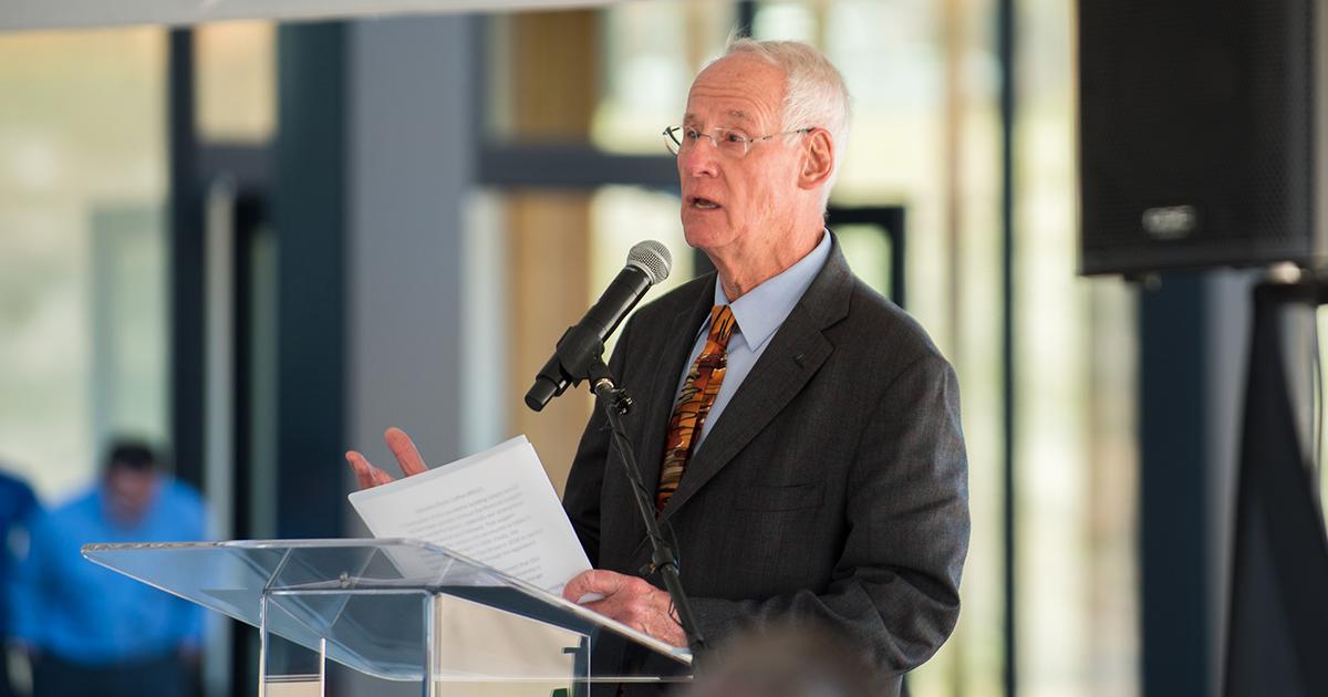 OSU Emeritus President Edward J. Ray.