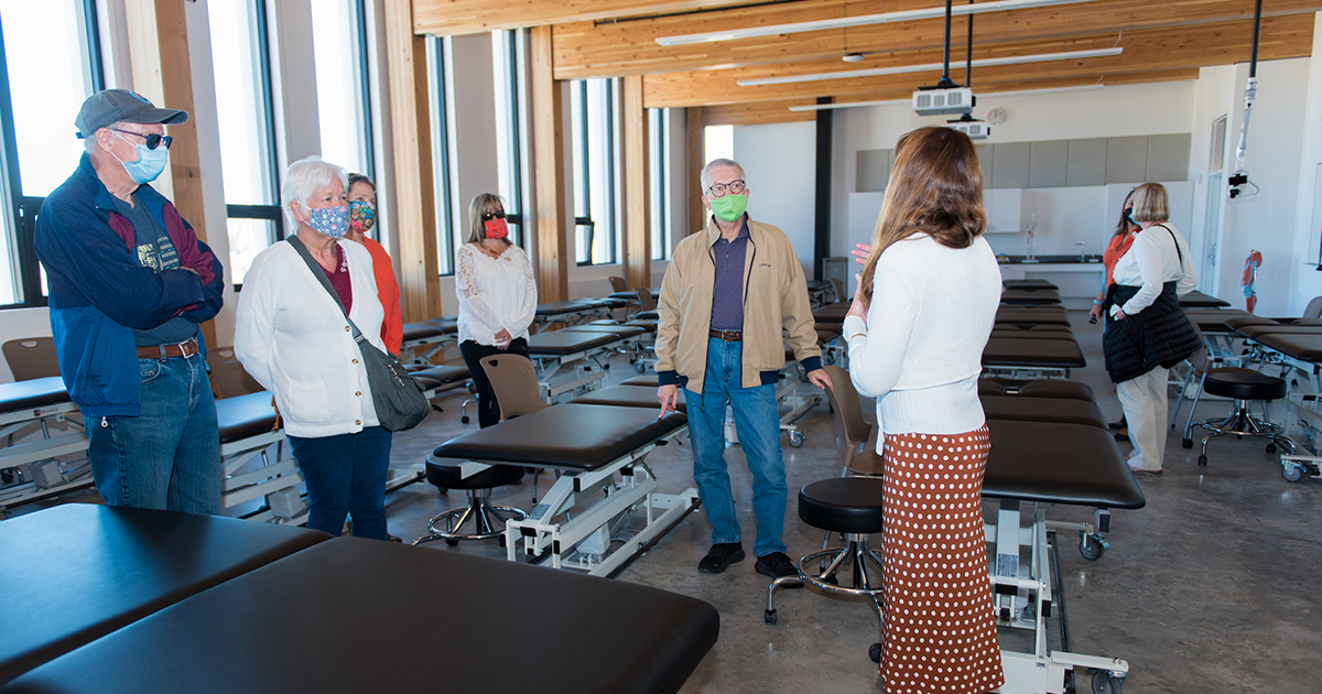 Doctor of Physical Therapy Classroom.