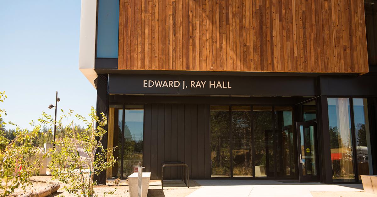 Edward J. Ray Exterior.