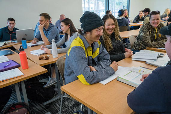 classroom at OSU-Cascades