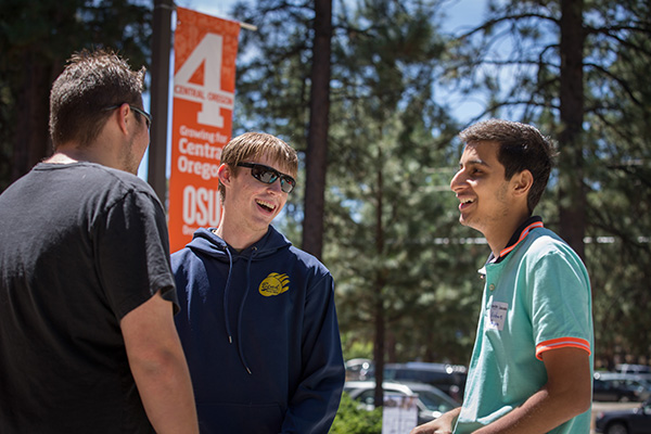 Talk to an admissions advisor at OSU-Cascades