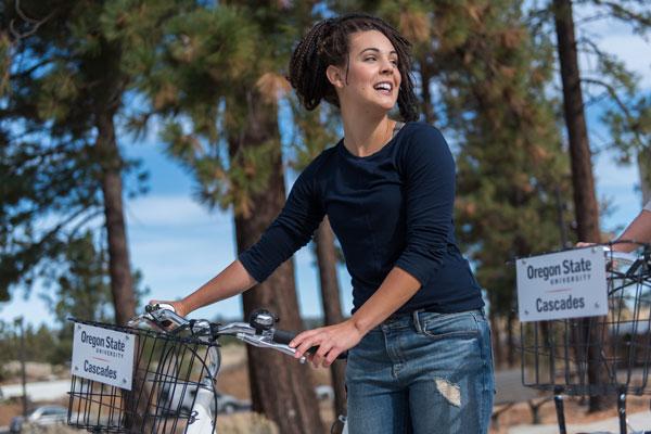 Free bike share on campus