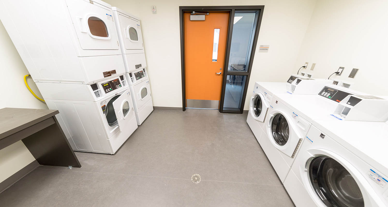 Residence Hall Laundry Room