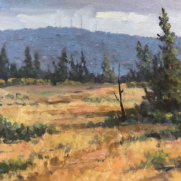 """Looking Out toward Awbrey Butte"" By Randall Tillery"