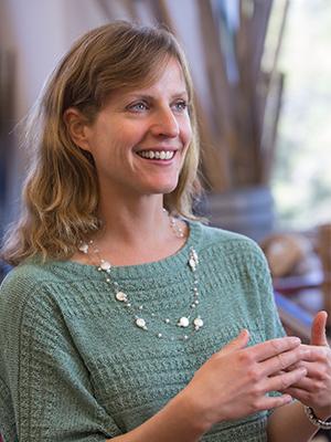 Biologist and OSU-Cascades biology instructor Ann Petersen.