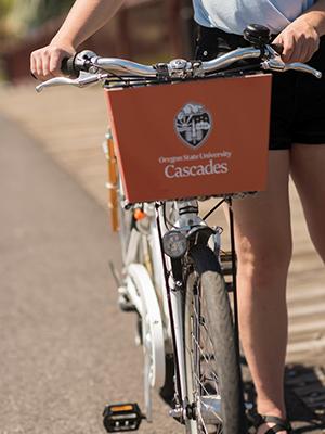 bicycle - zagster bike share - osu-cascades - bend, oregon