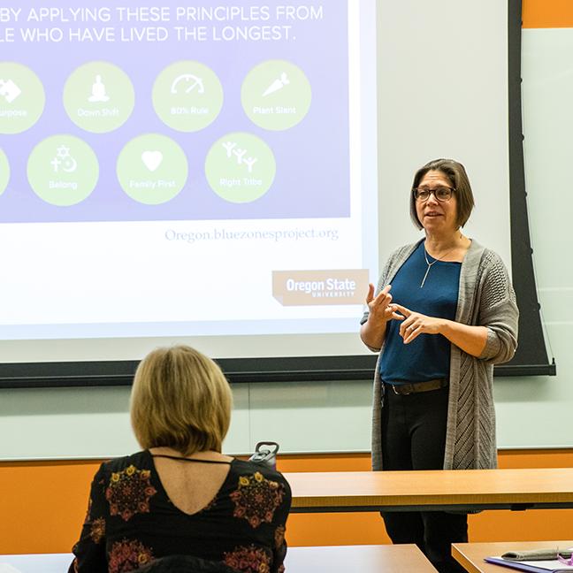 Oregon State University; Oregon State University - Cascades; OSU-Cascades; Lisa Flexner, Instructor, Kinesiology