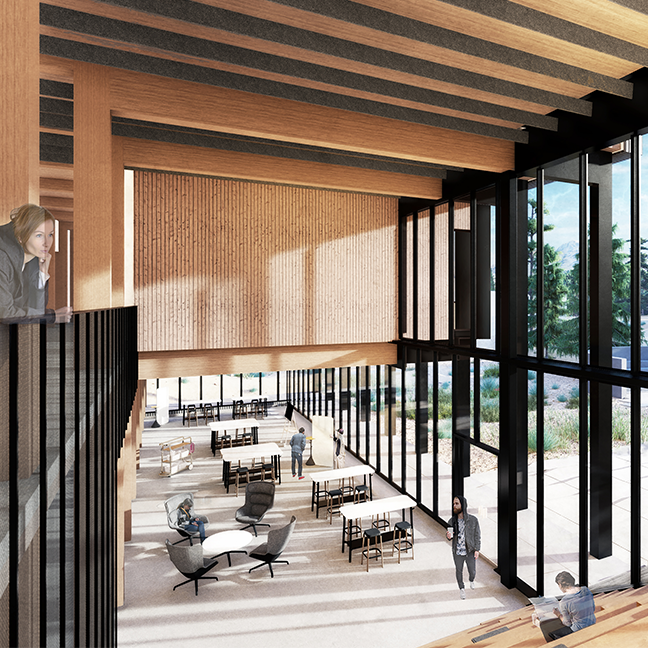 Oregon State University; Oregon State University - Cascades; OSU-Cascades; Expansion; Academic Building 2; Geothermal energy; Mass timber; Cross-laminated timber