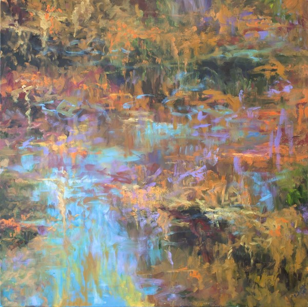 """Pond Reflections"" By Barbara Walsh"