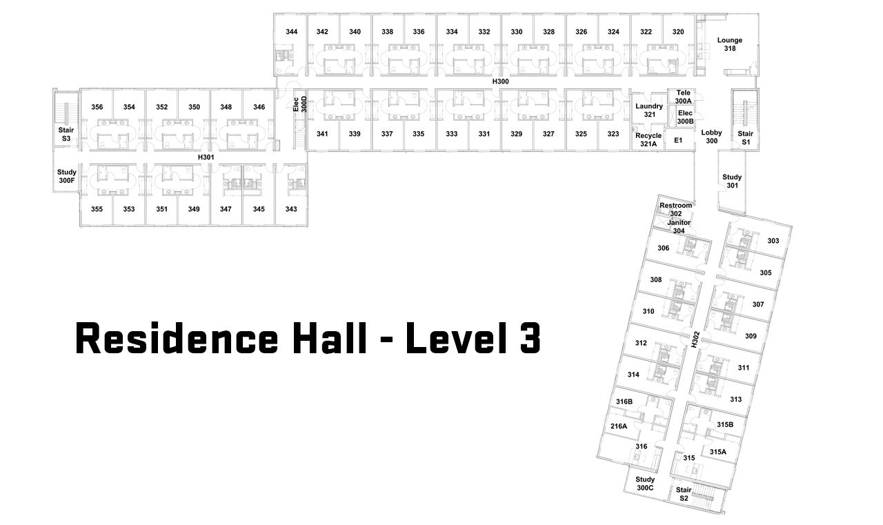 Third Floor Floor Plan