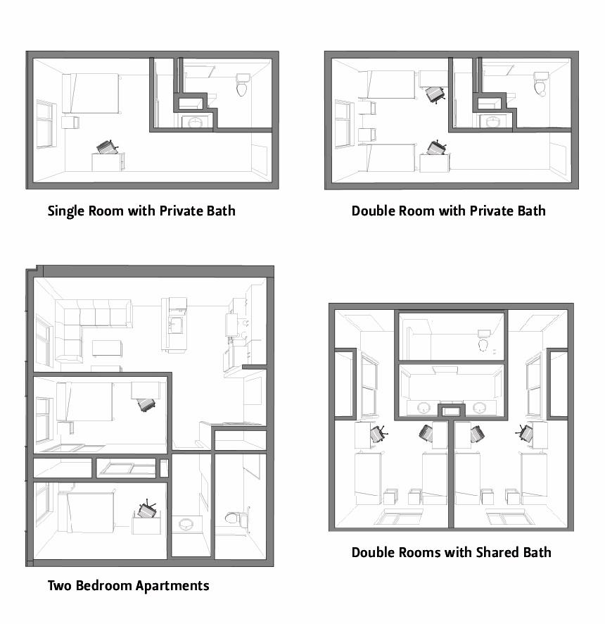 Floor Plans Osu Cascades Oregon State University
