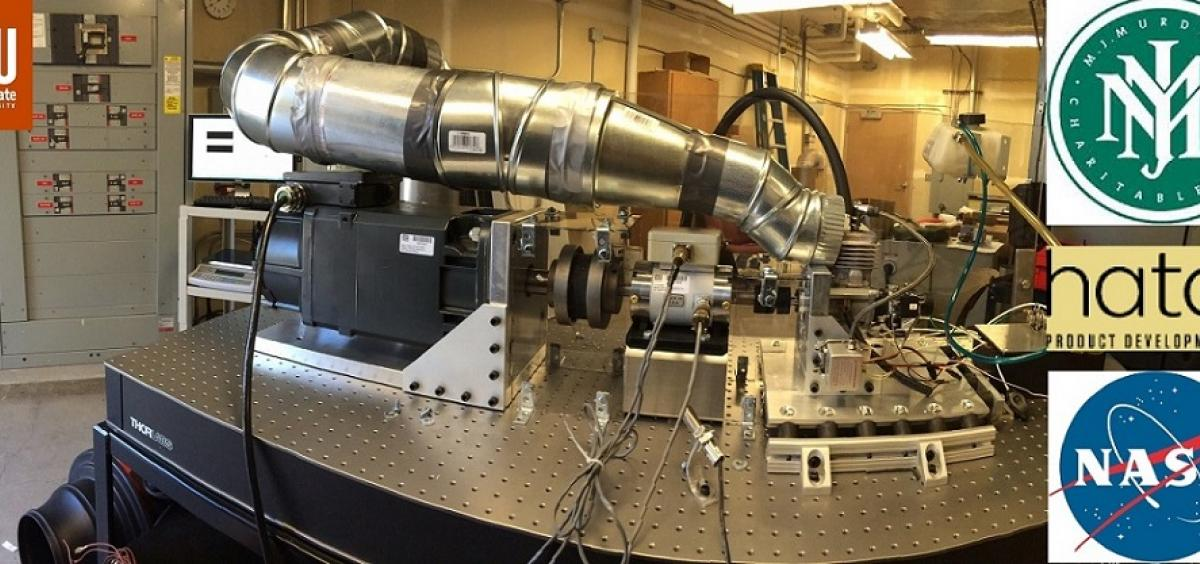 UAV Small Engine Test Stand at OSU Energy Systems Lab