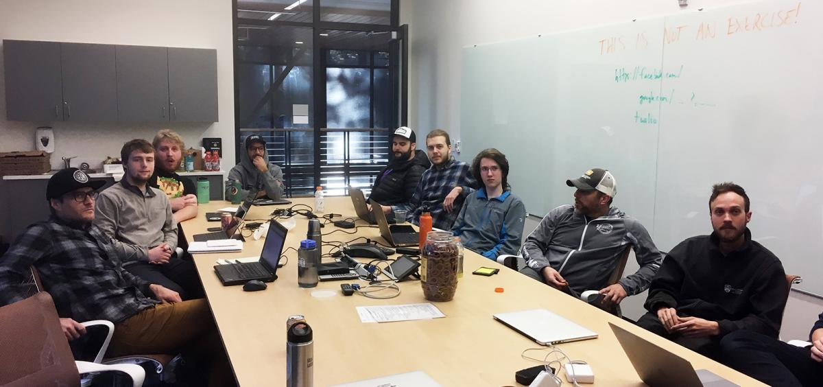 computer science students hackathon