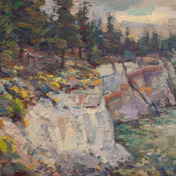 """The Pumice Mine"" by Laurel Buchanan"